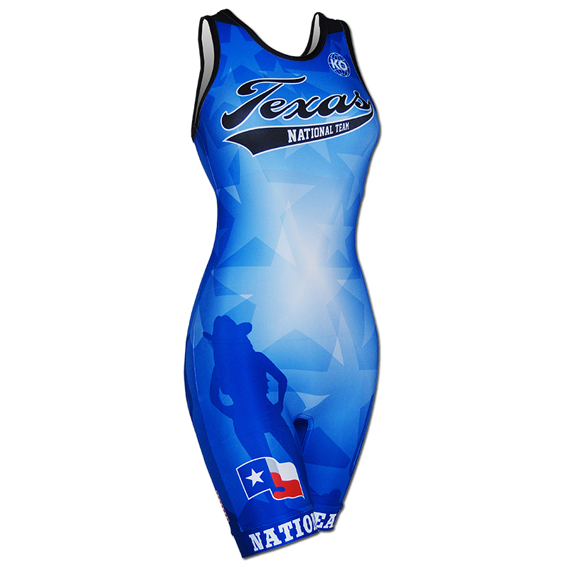 2014 Texas National Team Women's Singlet For Sale